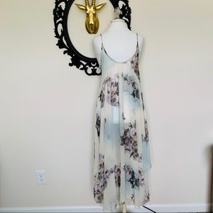 ✨Intimately Free People Floral Slip Dress